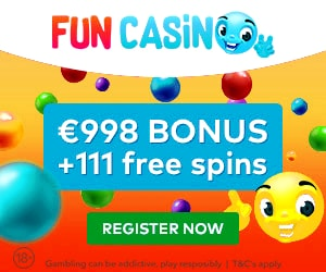 Fun Casino velkomstbonus