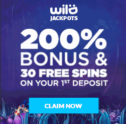 Wild Jackpots - Welcome Bonus