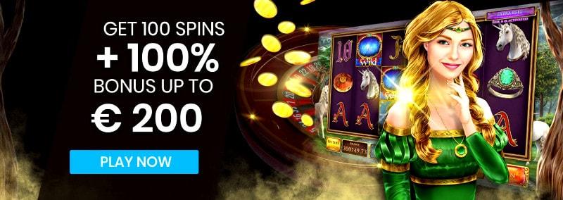 Mr.Play Casino Welcome Bonus