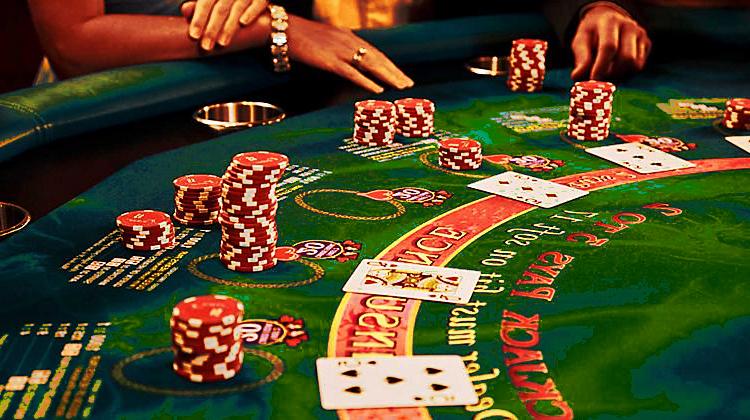 blackjack bordkortspill