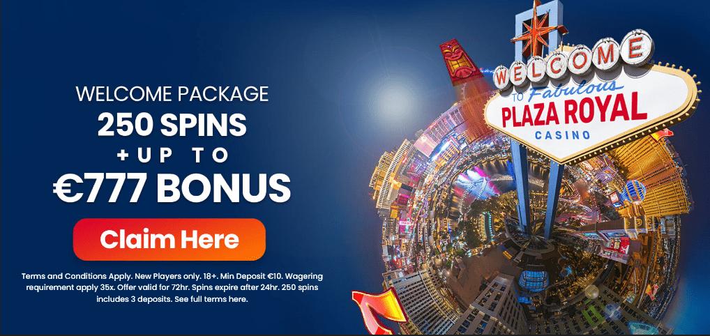 Plaza Royal Casino Bonus