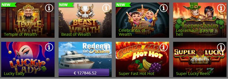 Spin Rio casino Games